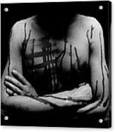 Headless Man Acrylic Print