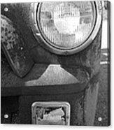 Headlight Of The Past Acrylic Print