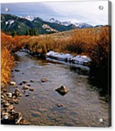 Headwaters Of The River Of No Return Acrylic Print