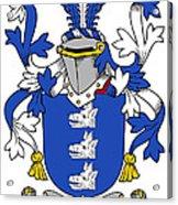 Healey Coat Of Arms Irish Acrylic Print