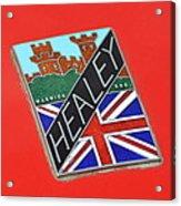 Healey Silverstone D Type Acrylic Print