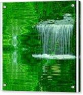 Healing In Green Waters Acrylic Print