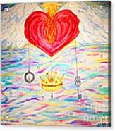 Healing In His Wings  Malachi 4 Acrylic Print