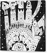 Healing Patterns I Acrylic Print