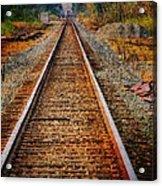 Hear My Train Comin Acrylic Print