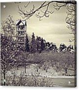 Hear The Carillon Bells Acrylic Print by Julie Palencia