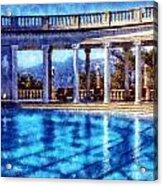 Hearst Castle Pool Acrylic Print