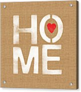 Heart And Home Acrylic Print
