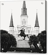 Heart and Soul of New Orleans Acrylic Print