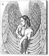 Heart Angel Acrylic Print