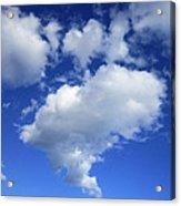 Heart Cloud 4-14-12 Acrylic Print