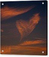 Heart Cloud Acrylic Print