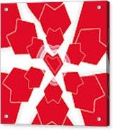 Heart Flower 1 Acrylic Print