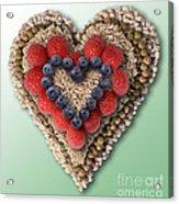 Heart-healthy Foods Acrylic Print