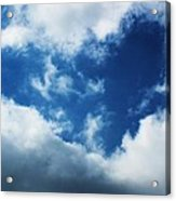 Heart In The Sky Acrylic Print by Anna Villarreal Garbis