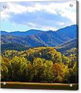 Heart Of Cataloochee Acrylic Print