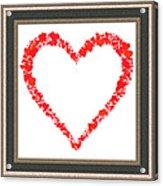 Heart Of Hearts II... Acrylic Print