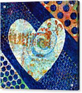 Heart Of Hearts Series - Elated Acrylic Print