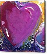 Heart Of Love Acrylic Print