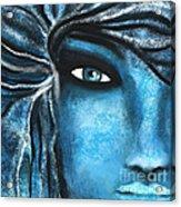 Heart Of Stone Acrylic Print by Hilda Lechuga