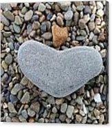 Heart Of Stone Acrylic Print