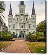 Heart Of The French Quarter Acrylic Print