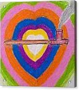Heart Pipe Acrylic Print