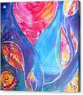 Heart Rose Acrylic Print