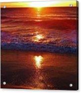 Heart Shaped Sunbeam 2 3/9 Acrylic Print