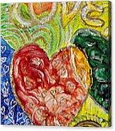 Heart To Heart G Acrylic Print