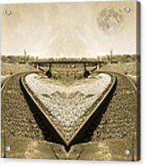 Heart Tracks Acrylic Print