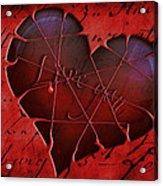 Heartbeat 2 Acrylic Print