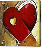 Heartbeat By Madart Acrylic Print