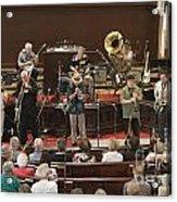 Heartbeat Dixieland Jazz Band Acrylic Print
