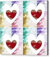 Heartful Acrylic Print