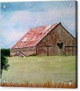 Heartland Barn Acrylic Print