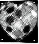 Heartline 10 Acrylic Print by Will Borden