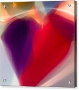 Hearts Afire Acrylic Print