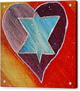 Hearts And Stars Forever Acrylic Print