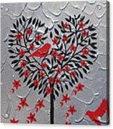 Hearts Acrylic Print