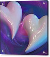Hearts In A Vortex Acrylic Print