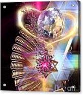 Heartworld1 Acrylic Print