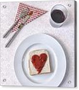 Hearty Toast Acrylic Print
