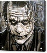 Heath Joker Acrylic Print
