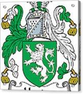 Heaton Coat Of Arms Irish Acrylic Print
