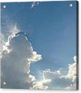 Heaven Above Acrylic Print