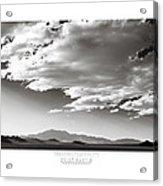Heaven And Speed IIi Acrylic Print