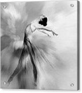 Heavenly Creature Bw Acrylic Print