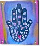 Heavenly Hamza 1 Acrylic Print by Tony B Conscious