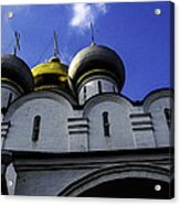 Heavenly Look - Moscow - Russia Acrylic Print